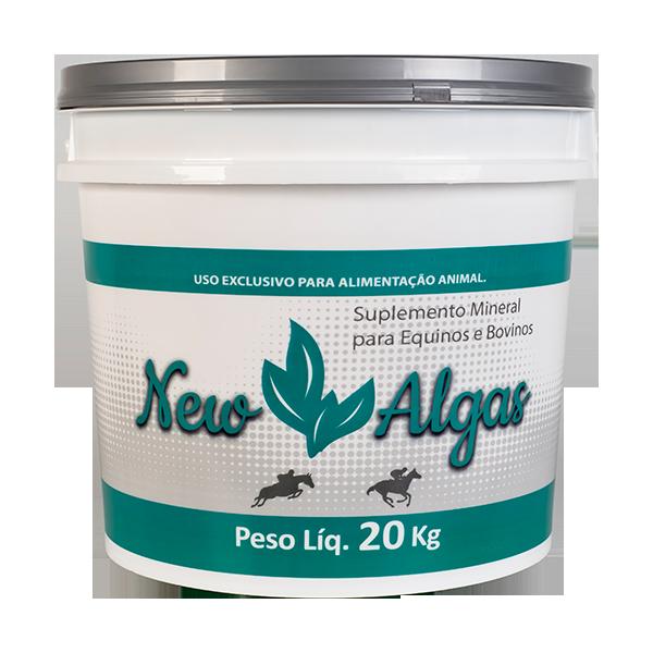 Suplemento Mineral para Cavalos e Gado - New Algas